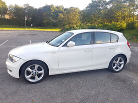 BMW Series 1 Sport 116d 2.0L WHITE