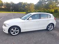 BMW Series 1 Sport 116d 2.0L WHITE