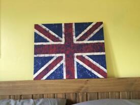 Union Jack canvas x 2