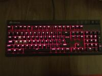 Corsair Strafe Red Backlit Lighting Gaming Keyboard