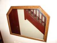 Large mirror suitable for hall or sitting room