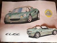 LOTUS ELISE Mk1 Artwork
