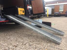 Loading Channel Ramps, strong & lightweight 6ft
