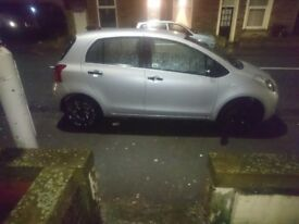 Toyota Yaris T2, 08 plate
