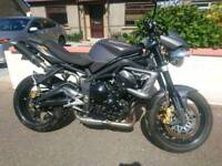Triumph Street Triple R - 2010 - Upgraded! With private plate worth £400
