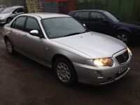 2005 ROVER 75 CLASSIC CDT AUTO SILVER PX TO CLEAR BARGAIN