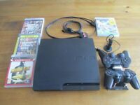 PS3 Console with 4 Games