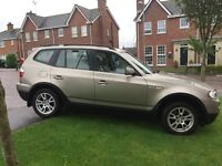 2007 BMW X3 for sale with full bavarian service history.