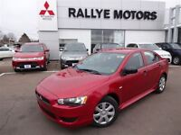 2015 Mitsubishi Lancer DE - YES!!  0% FOR 84, $47 WEEKLY !!!!