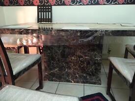 Real marble Italian table