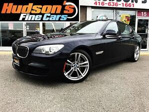 2013 BMW 740 Li xDrive|M-SPORT|NAVI|BACKUP CAM|ACCIDENT FREE