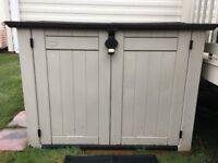 Ketter garden storage box,