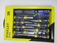 STANLEY 39 PIECE SCREWDRIVER SOCKET SET - STHT62291-0 - BRAND NEW ONLY £15