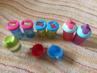 Bundle of toddler cups