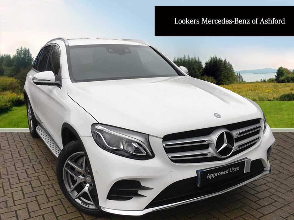 mercedes benz glc class glc 250 d 4matic amg line white. Black Bedroom Furniture Sets. Home Design Ideas