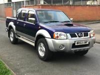 2003 4X4 4WD NISSAN NAVARA 2.5 DIESEL