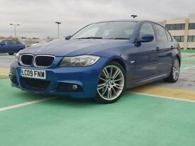 PRICED LOW for a quick sale — BMW 320d Msport Le Mans blue