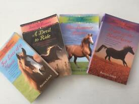 Set of 4 books in Jinny at Finmory series by Patricia Leitch