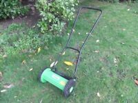 Handy Push along Lawn Mower
