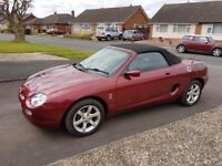 MG MGF very rare steptronic gearbox model