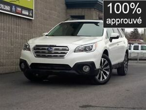 2015 Subaru Outback 3.6R Limited w/Technology *100$/sem 0 compta