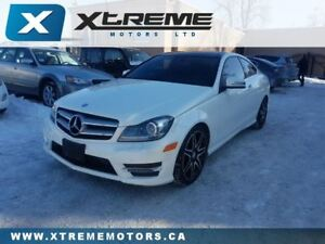 2013 Mercedes-Benz C-Class C350 4MATIC COUPE FULLY LOADED