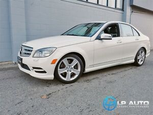 2011 Mercedes-Benz C-Class C300 4MATIC! Local! No Accidents!