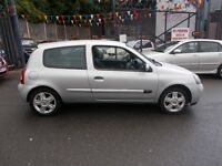 "Renault Clio 1.2 Campus Sport 3dr"" GREAT VALUE WEEKEND SPECIAL "" 06/06 LOW MILEAGE"