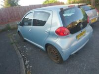 Toyota Aygo 1.0 breaking spare parts