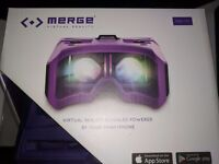 Virtual Reality Headset - For ANY phone - Merge
