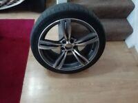 Bmw alloy wheelsand tyres