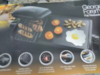 Fat reducing grill & griddle