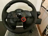Gaming driveing weel