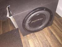 800 watt pioneer bass speaker