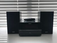 SONY stereo with docking station