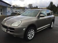 Porsche Cayenne S with factory replacement 4.5L V8 engine.