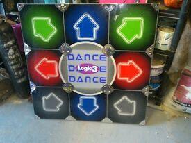 Retro old play station dance mat lights.£25