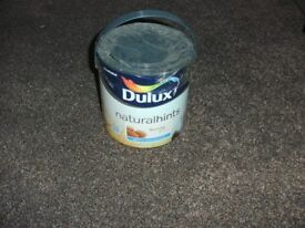 TIN OF DULUX NATURAL HINTS PAINT NUTMEG WHITE