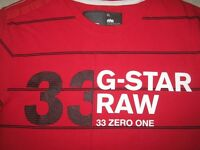 G-STAR RAW (Raw Denim) men's T-shirt (XL)