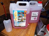 rc nitro fuel x2 gallons one is 16% and the other is 18% cars , planes , helicopters etc