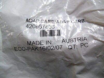 New OEM Carburetor Adapter Plate Seadoo Part Number 420867833