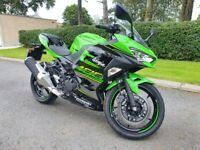 June 2018 Kawasaki Ninja EX 400 GJF, One Owner, Only 297 Miles!! As New!! FINANCE AVAILABLE