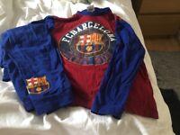 Kids barcelona PJS size 9-10