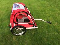 Halfords-single-buggy-child-bike-trailer