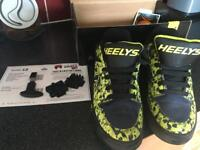 Heeleys boys size 5 - only worn once