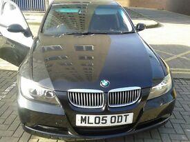 BMW 320D SE black