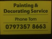 Professional Painter and decorating service, 20+ years experience