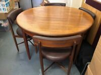 G-Plan Teak Table and 4 Chairs