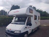 4/5 Berth Motorhome - Auto Roller / Roller Team Motor Home / Campervan