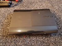 PS3 SUPER SLIM 500GB..19 GAMES, CONTROLLERS AND CAMERA (PLAYSTATION EYE)